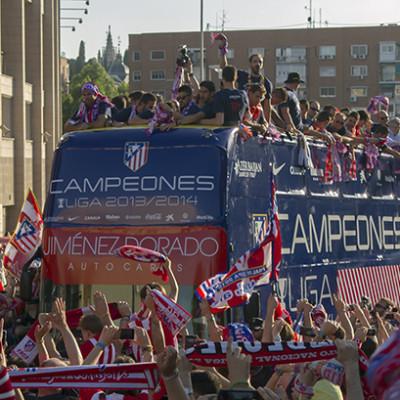 Atletico de Madrid Campeón de Liga 2013/2014